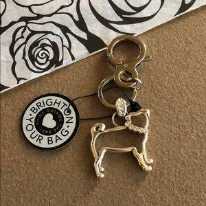 Brighton Pepper Pup Dog Key Chain